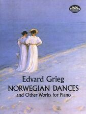 Edvard Grieg Norwegian Dances Learn to Play Classical Piano Music Book