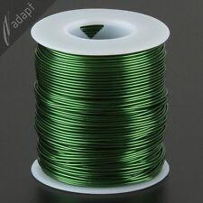 Magnet Wire, Enameled Copper, Green, 18 AWG (gauge), 155C, ~1 lb, 200 ft
