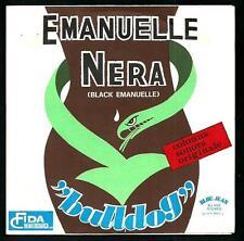 """Bulldog : Emanuelle Nera / Robin Hood - vinile 45 giri / 7"""""""