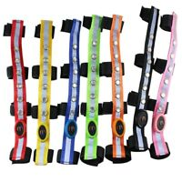 34*2.5CM LED Horse Riding Head Harness Colorful Lighting Equestrian Equipment