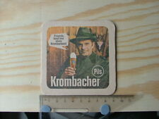 Beermat Coaster Krombacher Pils Freunde Germany beer Bier BM860