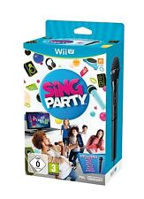 Sing Party + Microfono    WII U nuovo!!!