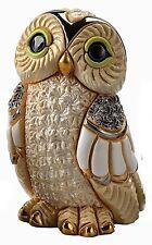 De Rosa Winter Owl Figurine F185 New in Gift Box  26811