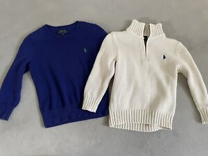 Boys Ralph Lauren Jumper Bundle Age 4
