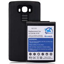 8200mah Li-Ion Lithium Ion Batterie de rechange Accu séparé Couvercle de Batterie + Coque Arrière LG g4