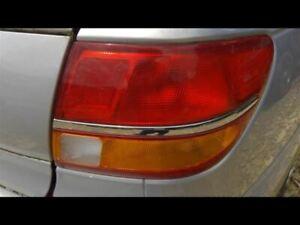 Passenger Tail Light Sedan Fits 00-02 SATURN L SERIES 328219