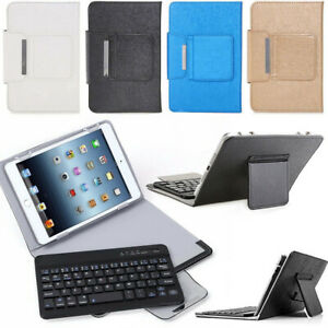 For LG G Pad X 10.1 V930 UK750 2016 Flip Leather Folio Case & Wireless Keyboard