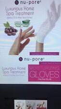 24 Pair NU-PORE Moisturizing Gloves / Jojoba Oil and Aloe Vera / Spa Treatment