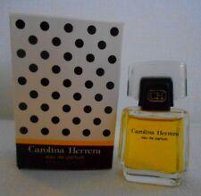 Miniature de parfum Carolina Herrera  EDP 4 ml avec boite