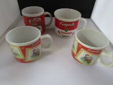 Campbells Soup Mug Lot 1989 2001 2003