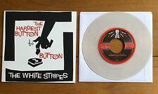 "The White Stripes - The Hardest Button  7"" Clear Vinyl"