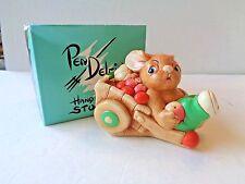 Vintage Pendelfin Barrow Boy Rabbit Figure Made In England ~ Nib P1