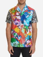 Robert Graham 'Flashback' Limited Edition Short-Sleeve Shirt NWT {XLarge} [XL]