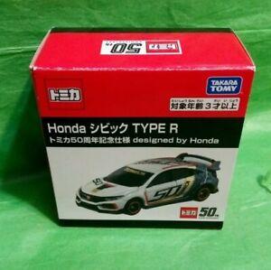 Takara Tomy Tomica 50th Anniversary Honda Civic Type R  Diecast car New with box