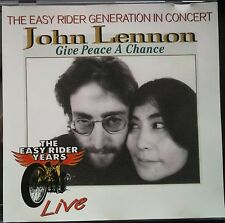 John Lennon ‎– Give Peace A Chance CD The Easy Rider Generation In Concert