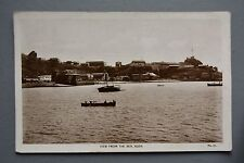 R&L Postcard: Sea View, Aden Boats Middle East