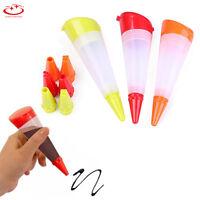 Pastry Icing Piping Bag Nozzles Tips Fondant Cake Sugarcraft Tool Decorating Pen