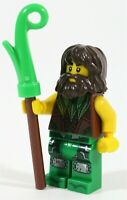 LEGO NINJAGO ELEMENTAL MASTER BOLOBO MINIFIGURE NATURE - MADE OF GENUINE LEGO