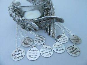UNIQUE LOSS OF CHILD BABY INFANT LOSS BEREAVEMENT MISCARRIAGE COINDISC NECKLACE