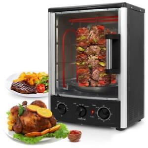 NutriChef PKRT97 Multi-Function Vertical Oven with Bake, Rotisserie & Roast