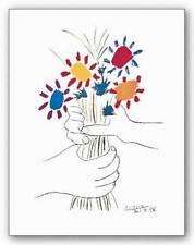 MUSEUM ART PRINT Petite Fleurs Pablo Picasso 11.75x8