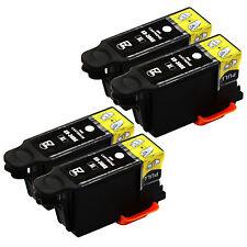 4 Pack 30XL 30 XL Black Ink Cartridges for Kodak ESP Office 2150 Printer