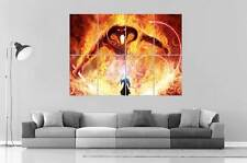 BALROG GANDALF BATTLE LORD OF THE RINGS SEIGNEURS DE ANNEAUX Poster format A0