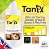 Spray Tan Solution 500ml 9% or 12% Tan FX *FREE Delivery* fake tan bake gun