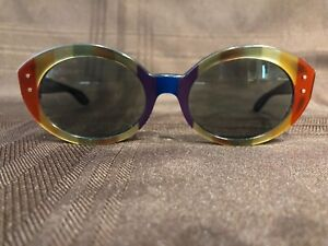 Vintage Ray Ban  B&L Bewitching Rainbow Oval Sunglasses  USA