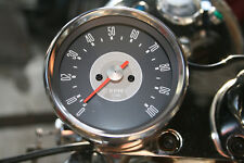 TRIUMPH T120 TR6 UNIT 650 REV COUNTER TACHO 4:1 SMITHS REPLICA GREY FACE