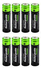 8 x Lloytron 800 mAh NI-MH piles rechargeables AA livraison gratuite uk