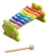 Wooden Animal Frog Xylophone Toy [Ages 36+ Months] **BRAND NEW**