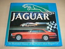 Jaguar Cars un Ilustrado History Of THE WORLD'S Mayoria Elegant Coche 1992