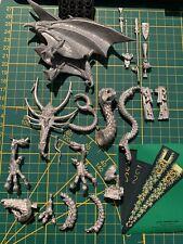 Warhammer Wood Elves Waldelfen Forest Dragon Walddrache Metal Rare Unused OOP #1