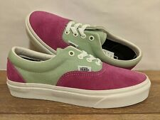 VANS New Era Vintage Sport Fuchsia Red/Aqua Foam Lady Shoes Size USA 7