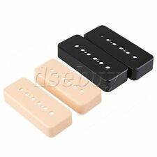 4 x P90 Pickup Covers Soapbar for Electric Guitar Black & Cream-Color