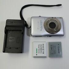 Canon PowerShot Digital ELPH SD1300 IS 12.1 MP Digital Camera - Silver