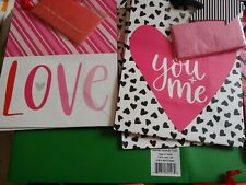 Lot of 17 Valentine's Day Gift Bags Misc