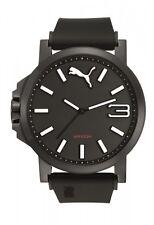Puma Herrenuhr Uhr Ultrasize Weiß Schwarz 10 ATM 50 mm Groß PU103461019