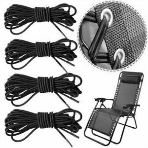 4x corde élastique pour chaises inclinables chaises de jardin zéro gravitéy YC