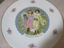 Collector Plates Valentines Day