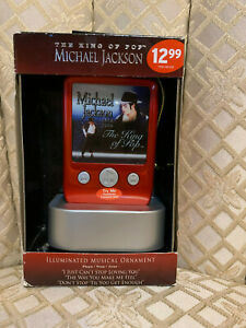 Michael Jackson King of Pop Musical 2010 Tree Ornament