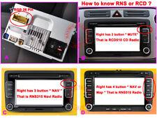 Car Camera Rear View Paking CCD for VW Sagitar for VW RGB Headunit RNS 310 315