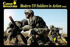 Caesar Miniatures - Modern US Soldiers in Action (set 2) - 1:72