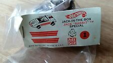 JACK IN THE BOX-JACK RABBIT SPECIAL-HOT WHEELS - REDLINES -ORIG.-MINT-ULTRA RARE