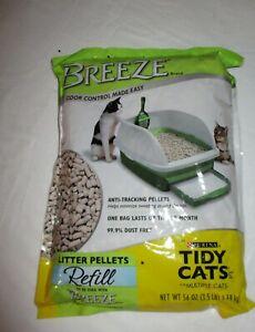 Purina Tidy Cats Litter Pellets, BREEZE Refill Litter Pellets 3.5 lb. Pouch