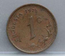 Rhodesia - 1 cent 1971 - KM# 10