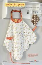 CUTIE PIE APRON SEWING PATTERN, from Cabbage Rose, *NEW*
