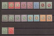 SOMALILAND 1905 SG 45/59 & All Chalky Papers Fine Mint Cat £265