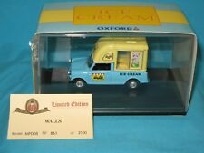 MINI Oxford Wall's Ice Cream Edition limitée 861/2100 1/43